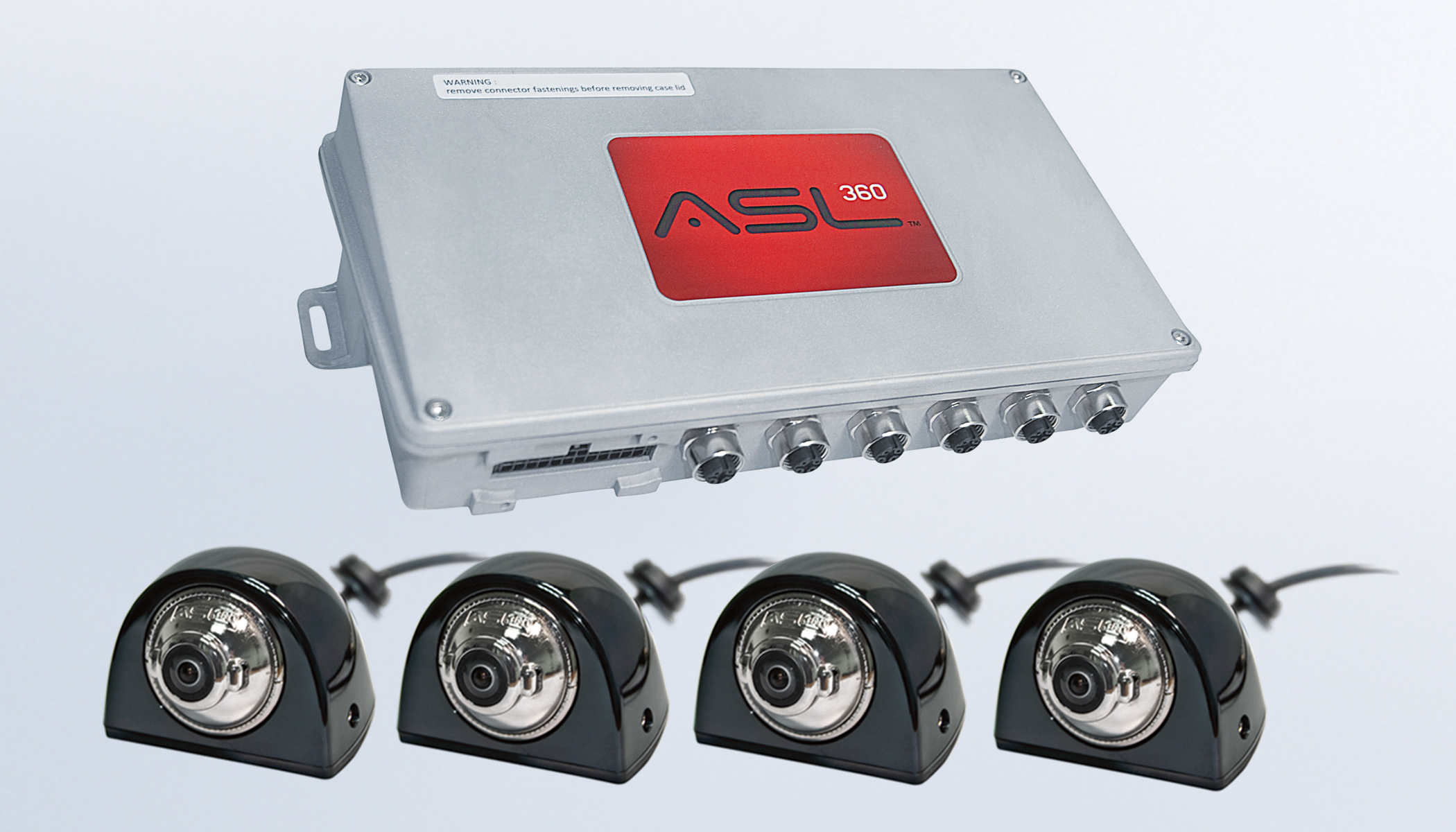 360 degree vehicle camera systems