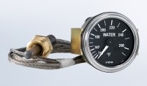 """Series 1  265°F Water Temperature Gauge with 72"""" Capillary"""