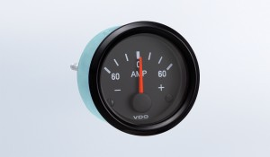 Cockpit International 60A Ammeter, Does Not Require External Shunt, 12V