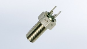 Inductive Sender, 28.5mm Long, Spade Connector, M18x1.5