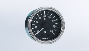 Series 1  80PSI Mechanical Oil Pressure Gauge