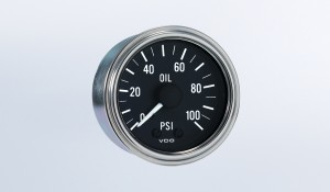 Series 1 Industrial 100PSI Mechanical Oil Pressure Gauge