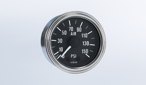 Series 1 Industrial 100PSI Mechanical Air Pressure Gauge