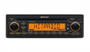 Continental Radio AM/FM Radio with CD and USB/AUX input 24V.  OEM Box