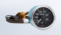 """Series 1 265°F Water Temperature Gauge with 144"""" Capillary"""