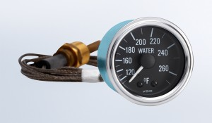 """Series 1 265°F Water Temperature Gauge with 48"""" Capillary"""