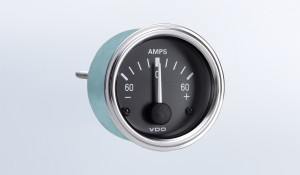 Series 1 60A Ammeter, Does Not Require External Shunt
