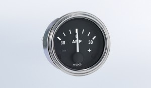Series 1 30A Ammeter, Does Not Require External Shunt